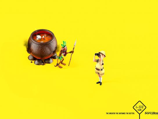 Barcellos Sports Print Ad -  Cauldron