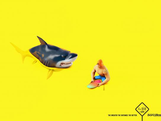 Barcellos Sports Print Ad -  Shark