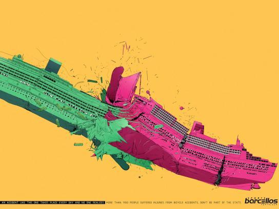 Barcellos Sports Print Ad -  Ships