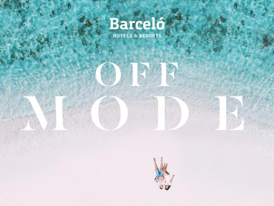 Barceló Hotels & Resorts Print Ad - Set Your Off Mode, 1