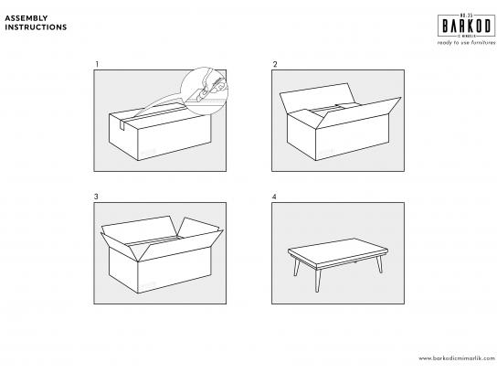 Barkod İç Mimarlık Print Ad - Assembly Instructions, 3