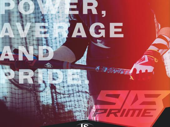Louisville Slugger Outdoor Ad - Prime 918