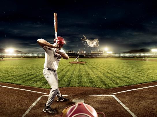 Mademsa Print Ad -  Baseball