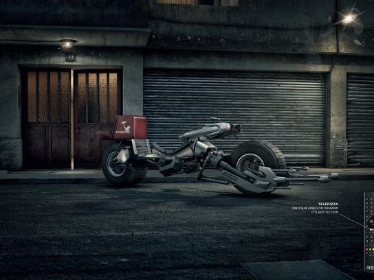 MEO Print Ad -  Batman