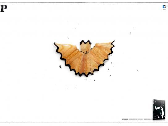Público Print Ad -  Batman Noir