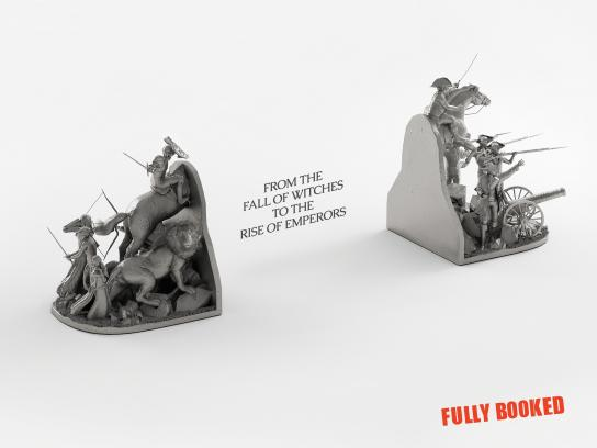 Fully Booked Print Ad -  Battle