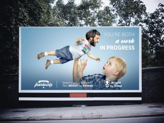 Bright By Three Outdoor Ad -  Parent Fearlessly, 5