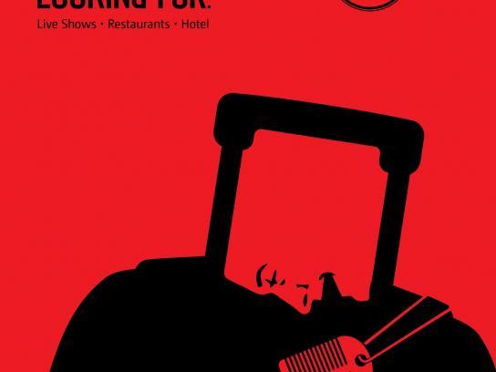Hard Rock Casino Print Ad -  Luggage