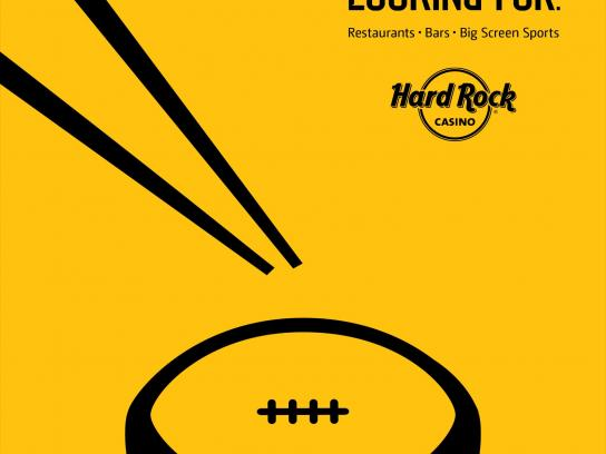 Hard Rock Casino Print Ad -  Noodle