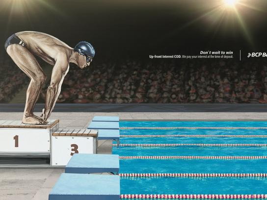 BCP Print Ad -  Swimmer