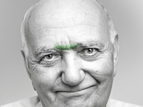 Black&Decker Print Ad -  Eyebrows