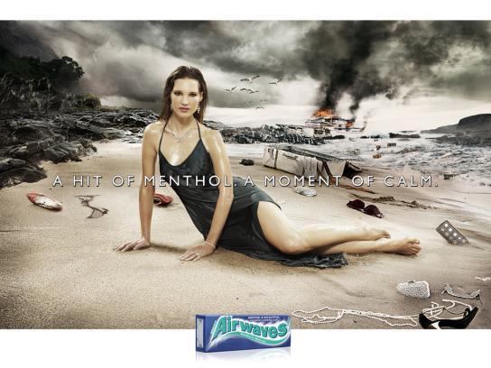 Airwaves Print Ad -  Beach
