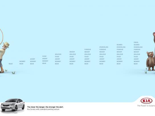KIA Print Ad - Bears