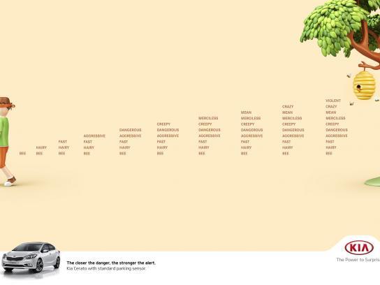 KIA Print Ad - Bees