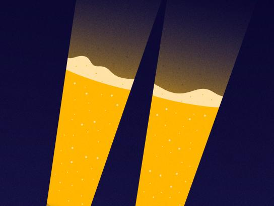 Chevrolet Print Ad - Beer