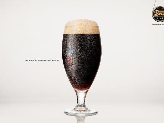 International Beer Club Print Ad -  Around the world, 1