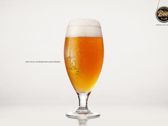 International Beer Club Print Ad -  Around the world, 2