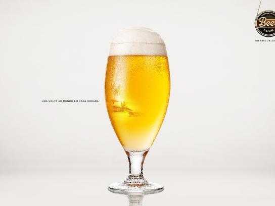International Beer Club Print Ad -  Around the world, 3