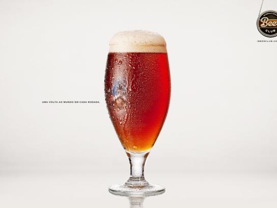 International Beer Club Print Ad -  Around the world, 4