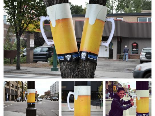 WURST Outdoor Ad -  Beer posters