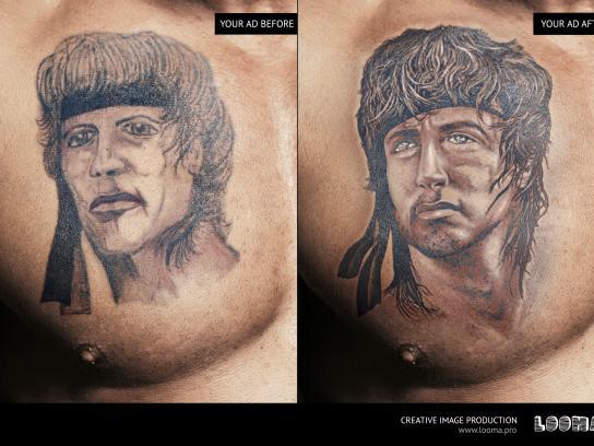 Looma Print Ad - Tattoo