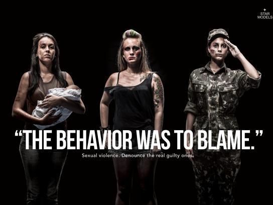 Star Models Print Ad -  Behaviour