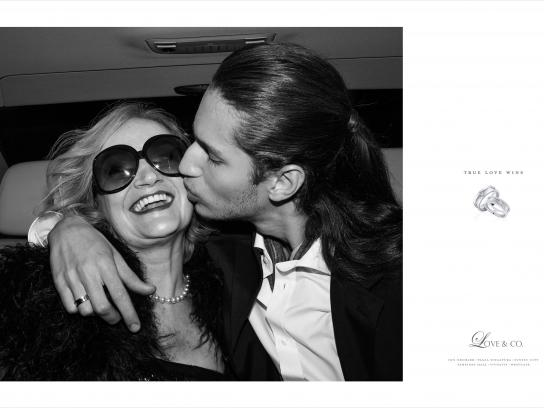 Love & Co. Print Ad -  True love wins, Bella & Axel