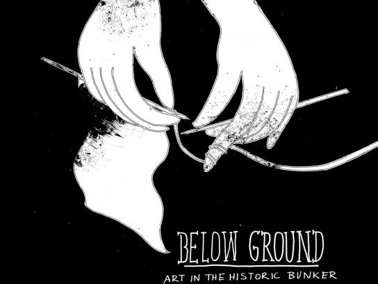 Below Ground Outdoor Ad -  Knitting