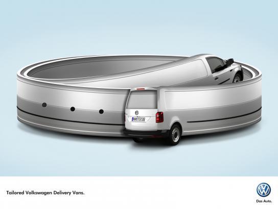 Volkswagen Print Ad - Belt