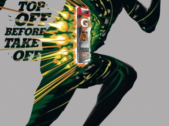 Gatorade Print Ad -  Bolt