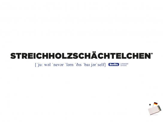 Berlitz Print Ad -  German