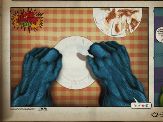 Domingo Print Ad -  Monster