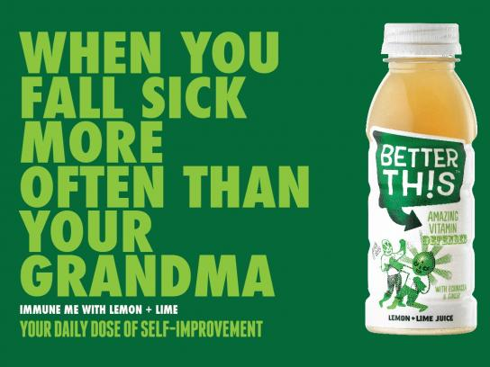 Better This Print Ad -  Grandma