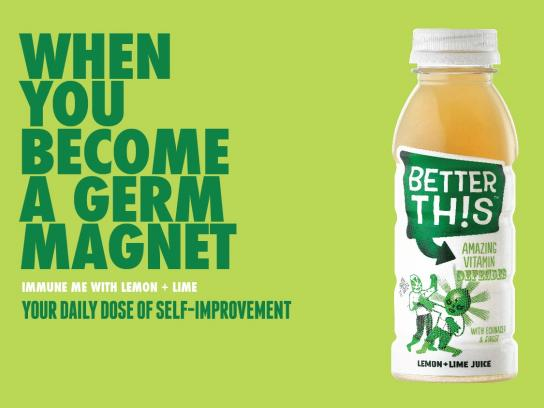 Better This Print Ad -  Germ magnet