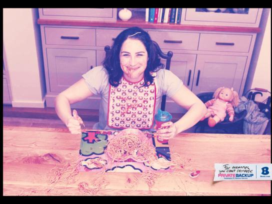Bezeq Print Ad -  Spaghetti