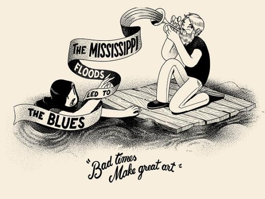 Brooklyn Film Festival Print Ad - Mississippi