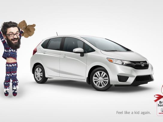 Honda Print Ad - Bring home a Honda - Feel