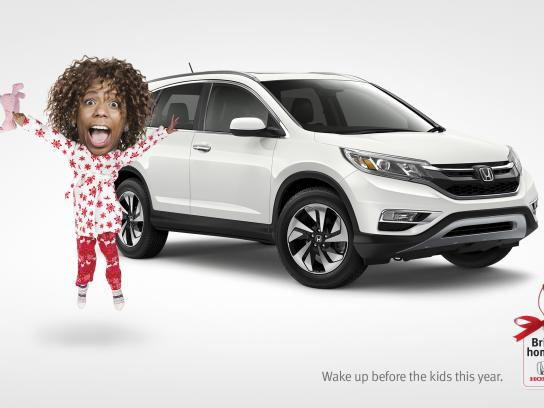 Honda Print Ad - Bring home a Honda - Wake up