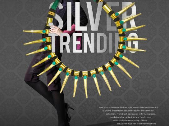 Bhima Print Ad - Silver trending, 2