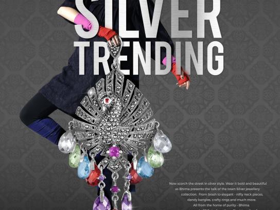 Bhima Print Ad - Silver trending
