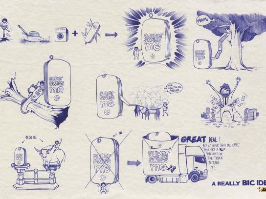 BIC Print Ad -  Idea, 4