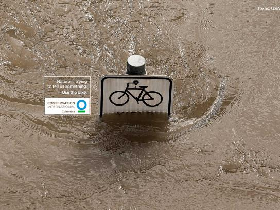 Conservation International Print Ad - Bicycle