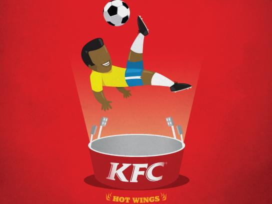 KFC Print Ad - Spice Things Up: Bicycle Diamond