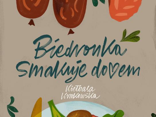 Biedronka Print Ad - Kielbasa