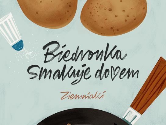 Biedronka Print Ad - Potatoes