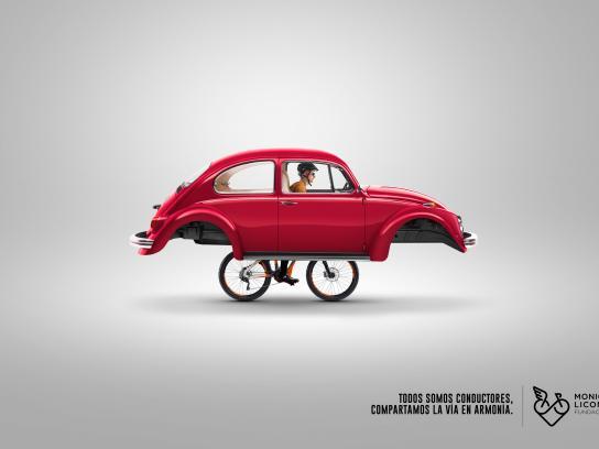Fundación Monica Licona Print Ad - Bike, 1