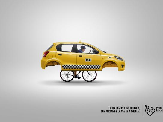 Fundación Monica Licona Print Ad - Bike, 2