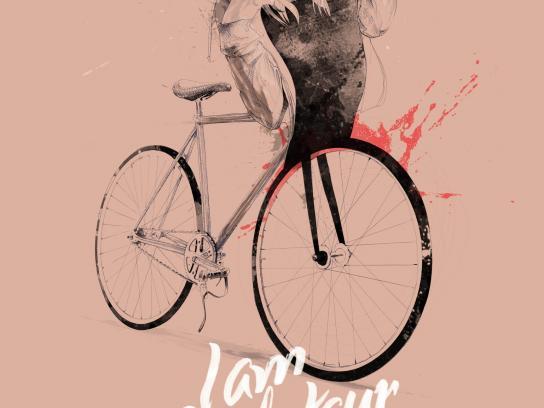 In Bicycle We Trust Print Ad -  Cyclotaur, 2