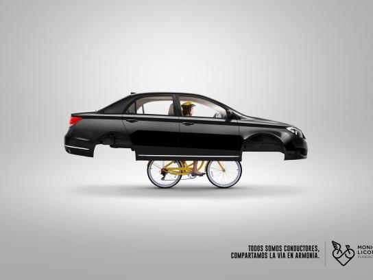 Fundación Monica Licona Print Ad - Bike, 3