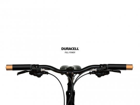 Duracell Print Ad - Bike